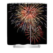4th Of July 3 Shower Curtain by Marilyn Hunt