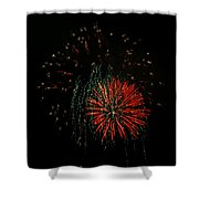 4th Of July 5 Shower Curtain