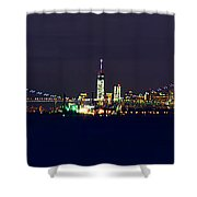 4th Of July New York City Shower Curtain by Raymond Salani III