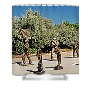 4th Of July Parade Shower Curtain