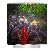 4th Of July Through The Lens Baby Shower Curtain