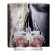 1959 Cadillac Eldorado Taillight Shower Curtain