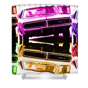 1969 Dodge Charger Shower Curtain