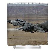 A Panavia Tornado Of The Italian Air Shower Curtain