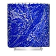 Abstract 34 Shower Curtain
