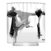 Abstract Series I Shower Curtain