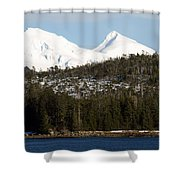 Alaskan Landscape Shower Curtain
