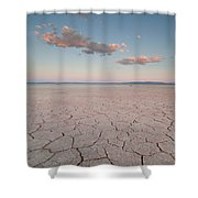 Alvord Desert, Oregon Shower Curtain