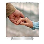 Always Together Shower Curtain