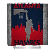 Atlanta Hawks Shower Curtain