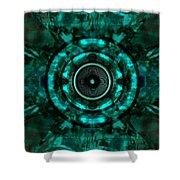 Audio Kaleidoscope  Shower Curtain