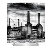 Battersea Power Station London Shower Curtain