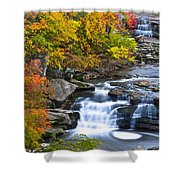 Berea Falls Shower Curtain by Frozen in Time Fine Art Photography