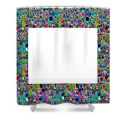 Border Frames Square Buy Any Faa Produt Or Download For Self-printing  Navin Joshi Rights Managed Im Shower Curtain