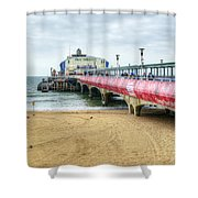 Bournemouth Pier Shower Curtain
