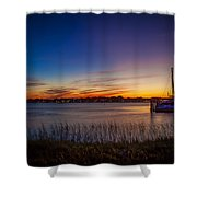 Bridge Of Lions St Augustine Florida Painted Shower Curtain