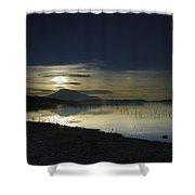 Calm Sunset Shower Curtain