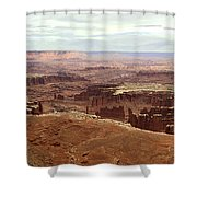 Canyonlands National Park In Utah Shower Curtain