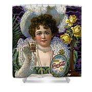 5 Cent Coca Cola - 1890 Shower Curtain