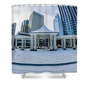 Charlotte Downtown Shower Curtain