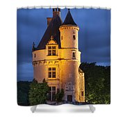 Chateau Chenonceau Shower Curtain