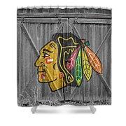 Chicago Blackhawks Shower Curtain