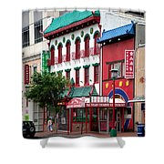 Chinatown Shower Curtain