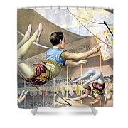 Circus Poster, C1890 Shower Curtain