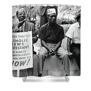 Civil Rights March, 1965 Shower Curtain