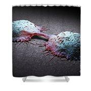 Colon Cancer Cells Shower Curtain