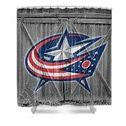 Columbus Blue Jackets Shower Curtain