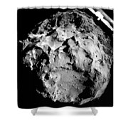 Comet 67pchuryumov-gerasimenko Shower Curtain