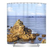Cornwall - Land's End Shower Curtain