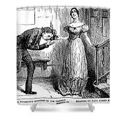 Dickens Martin Chuzzlewit Shower Curtain