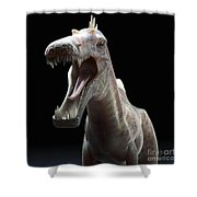 Dinosaur Suchomimus Shower Curtain