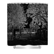 Entrance Gate Of Humayuns Tomb In Delhi  Shower Curtain