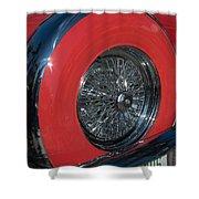 Ford Thunderbird Shower Curtain
