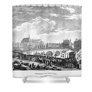French Revolution, 1791 Shower Curtain