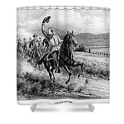 George Armstrong Custer (1839-1876) Shower Curtain