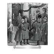 George V (1865-1936) Shower Curtain