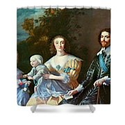 George Villiers (1592-1628) Shower Curtain