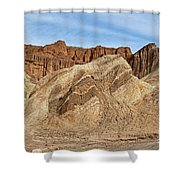 Golden Canyon Death Valley National Park Shower Curtain
