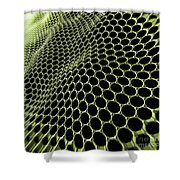 Graphene Structure Shower Curtain