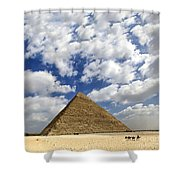 Great Pyramid Of Egypt Shower Curtain