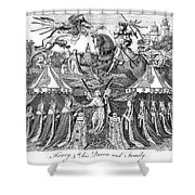 Henry V (1387-1422) Shower Curtain