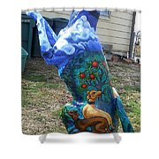 Hunt For The Unicorn On A Full Moon Shower Curtain