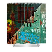 Industrial Detail Shower Curtain