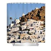 Ios Town Shower Curtain