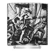 John Paul Jones (1747-1792) Shower Curtain