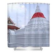 Ko Kret Potters Village Shower Curtain